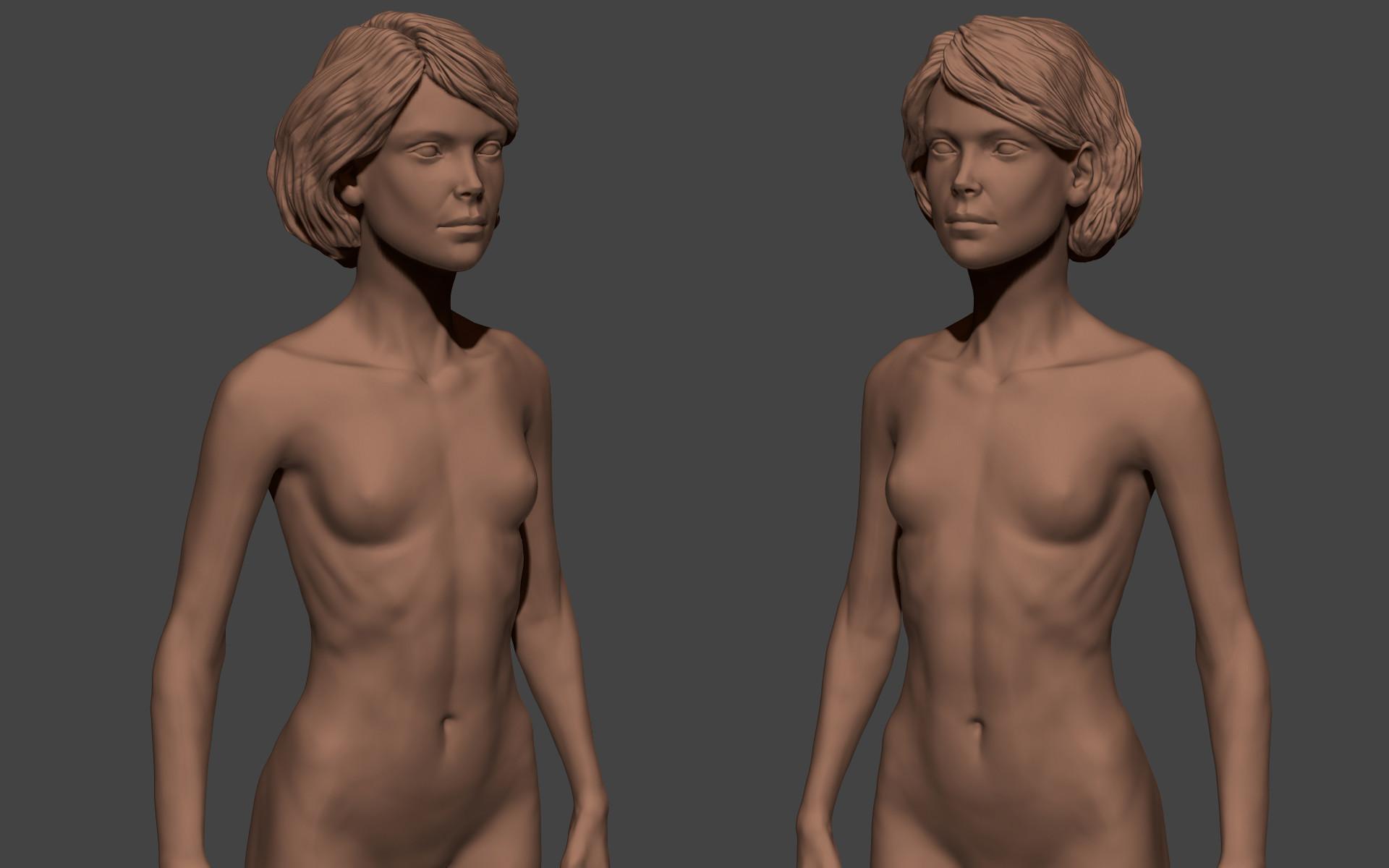 Ilhan yilmaz female anatomy study 03
