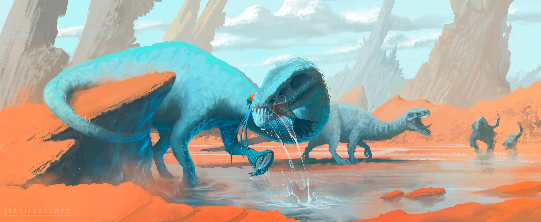 Triasic creatures