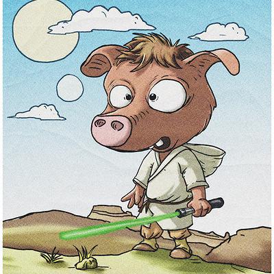 Ronald bousseau cochon jedi ronaldbousseau 201704