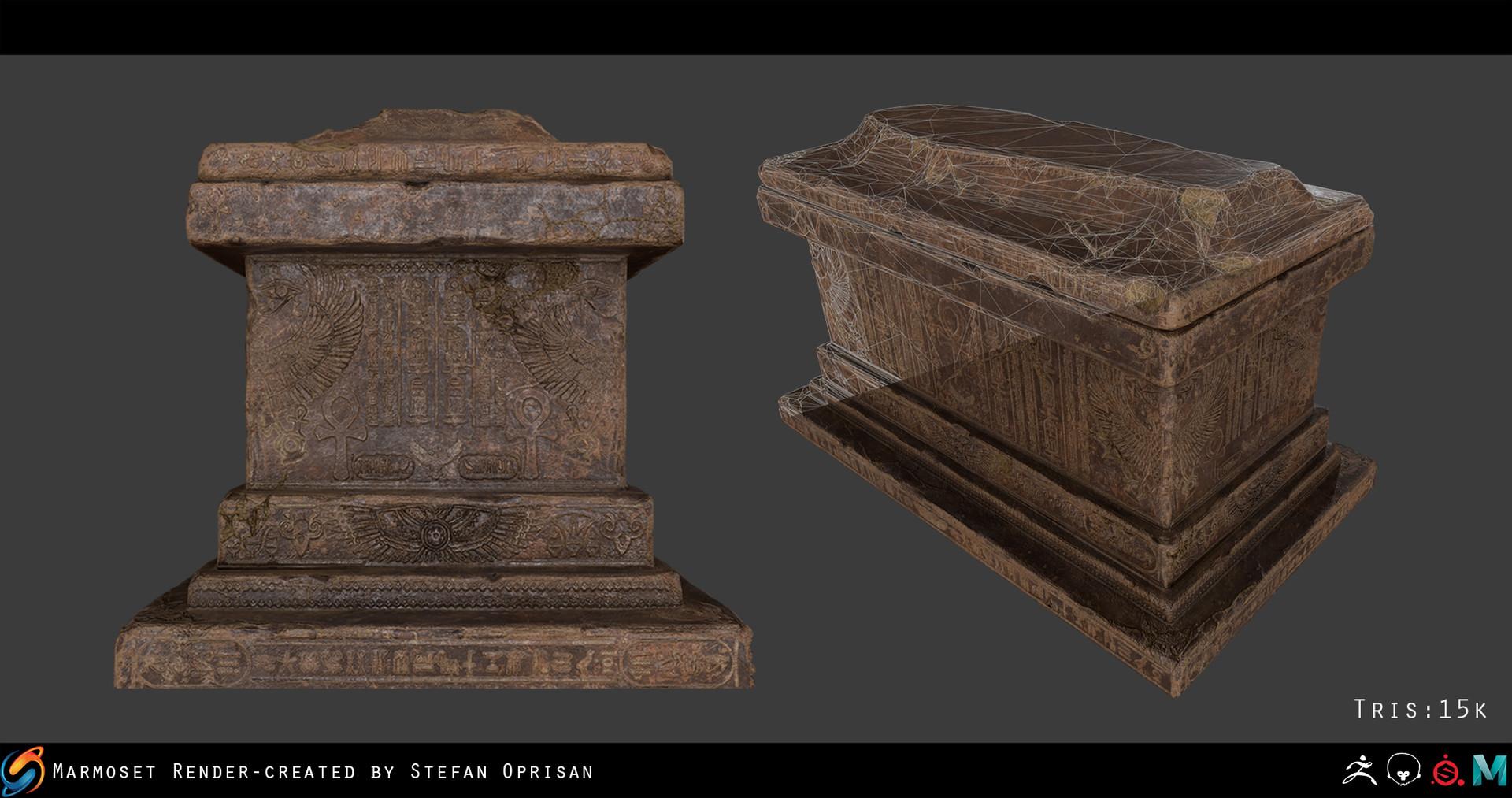 Stefan oprisan tomb