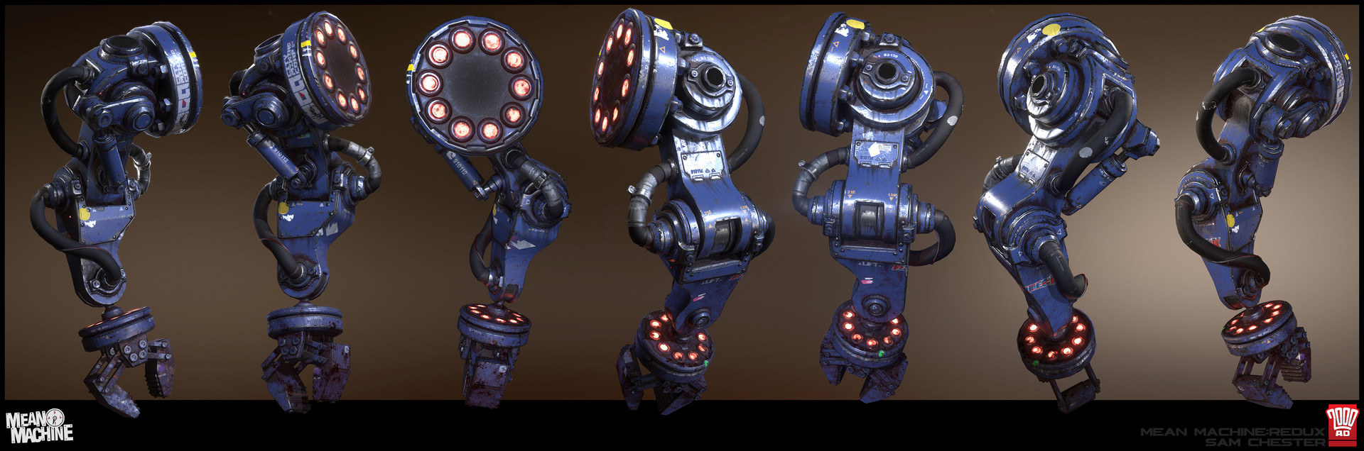 Mech-arm turnarounds