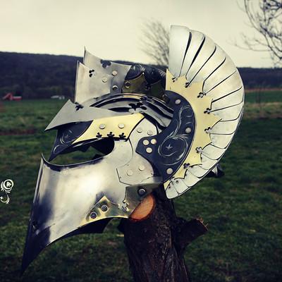 Alan padzinski helmet1