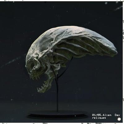 Mickael lelievre alientrib