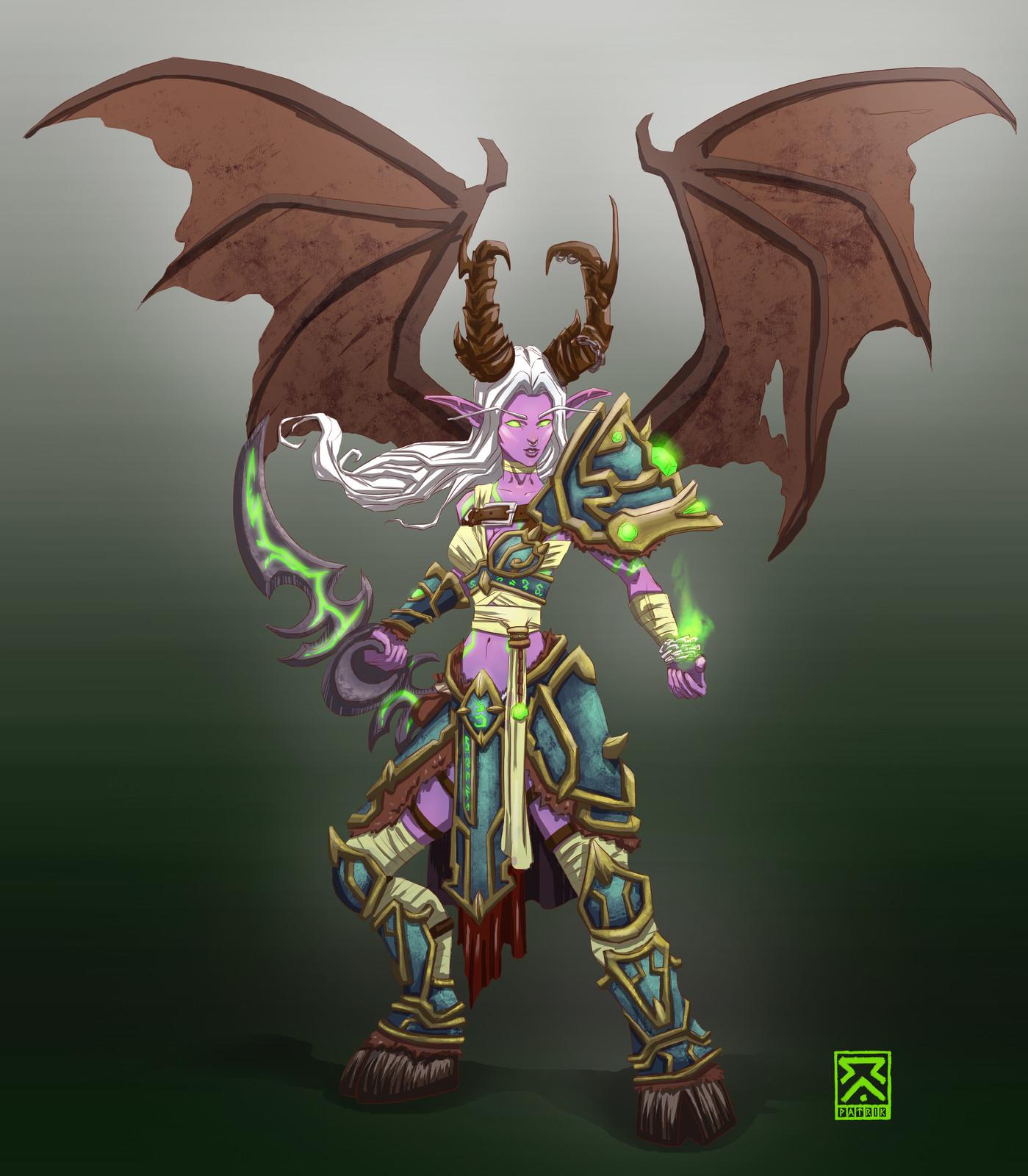 Demon hunter from Patrik Caetano