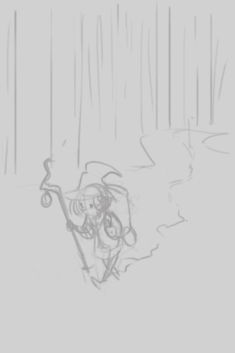 Monica ion snow forest walkwip00