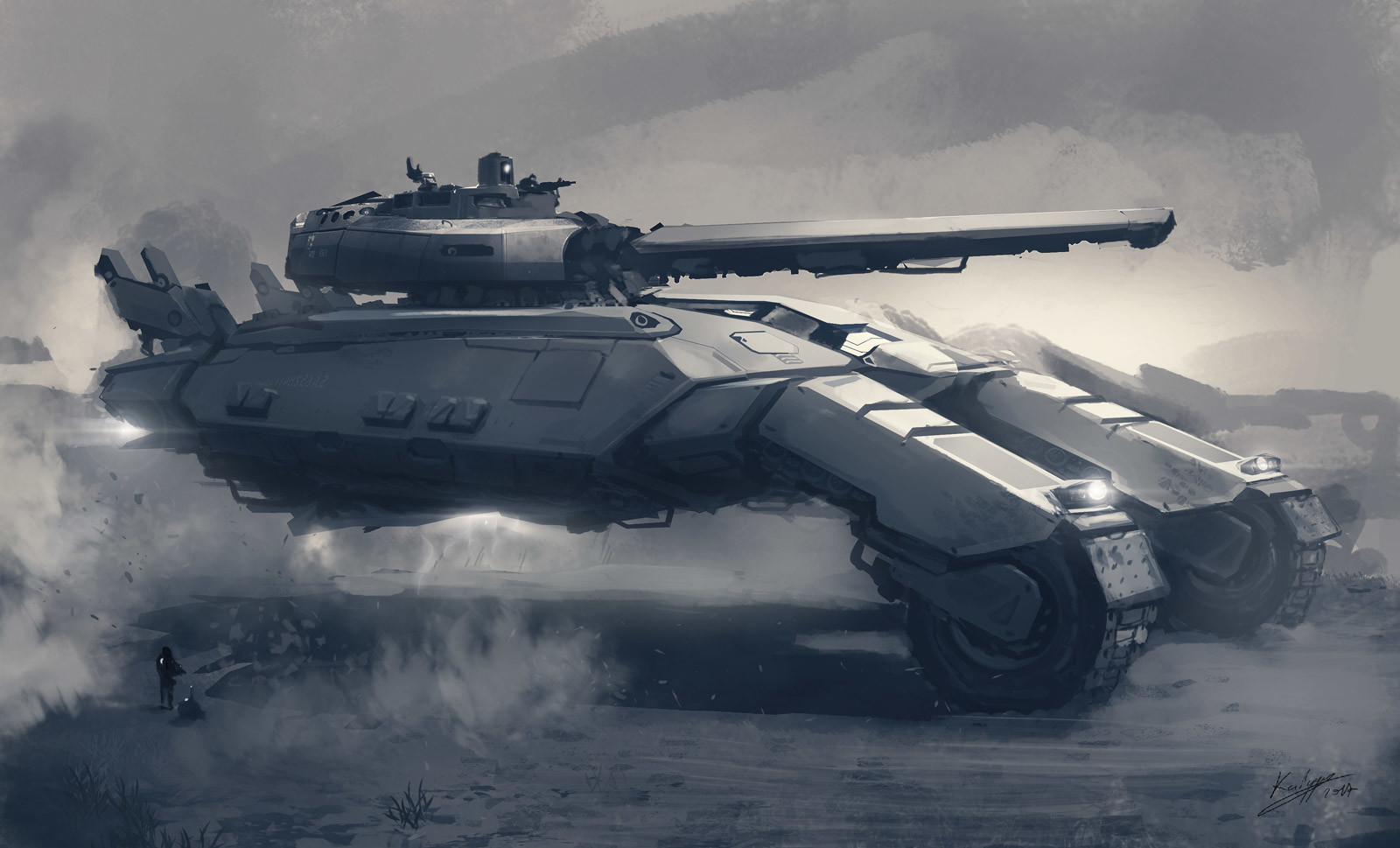 Hovertank