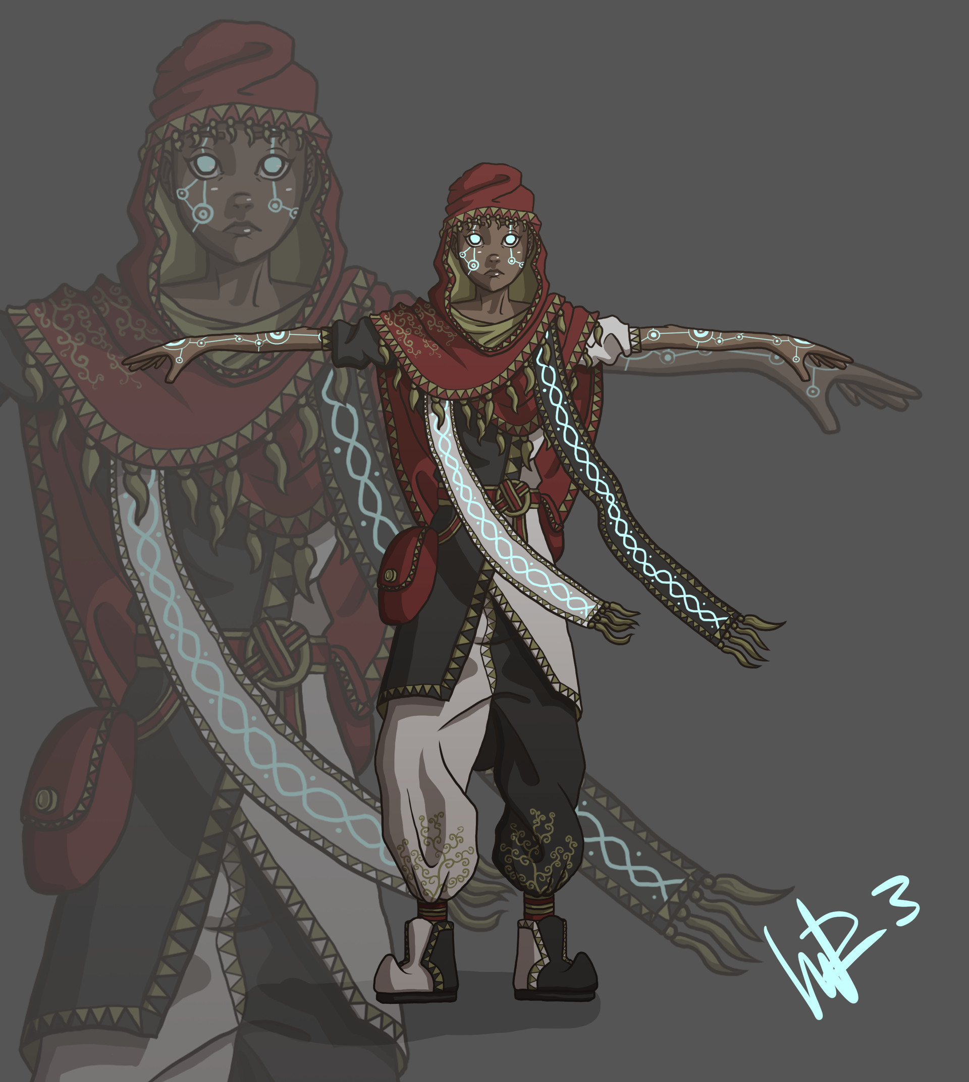 Mattias rosquist concept character nomx
