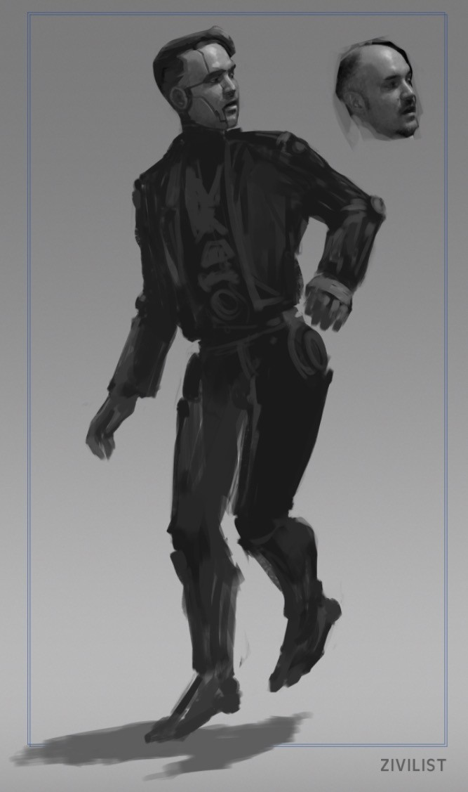 preliminary character sketch