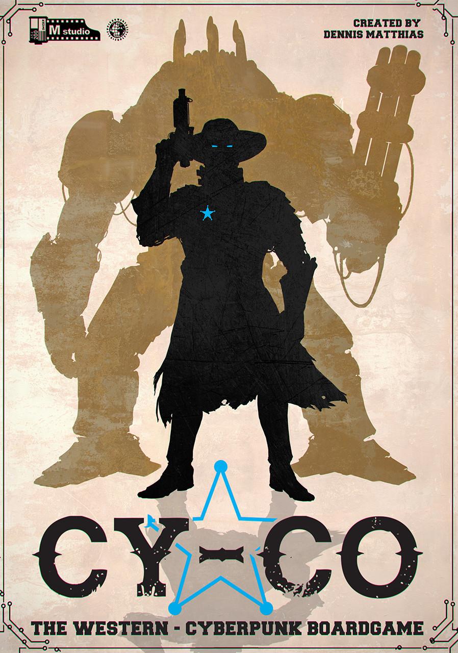 Simplistic promotional poster design