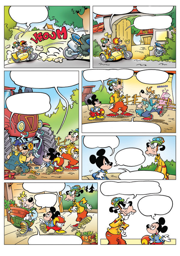 "( made for "" Le journal de Mickey "" Disney Hachette Presse )"
