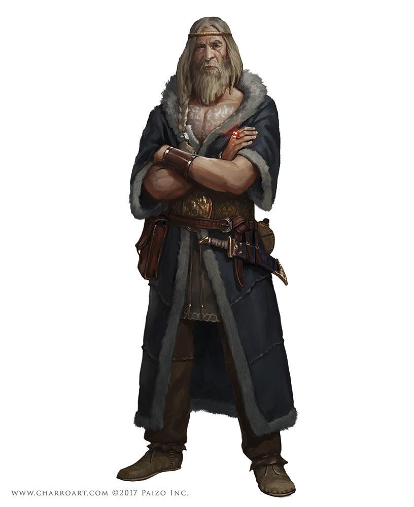 ArtStation - Pathfinder Characters II, Javier Charro