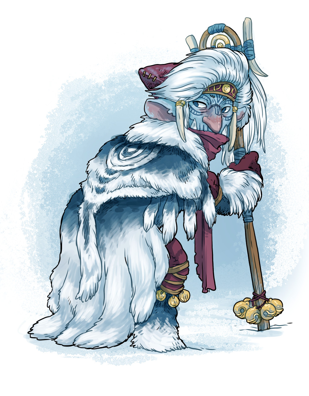 Arctic goblin shaman
