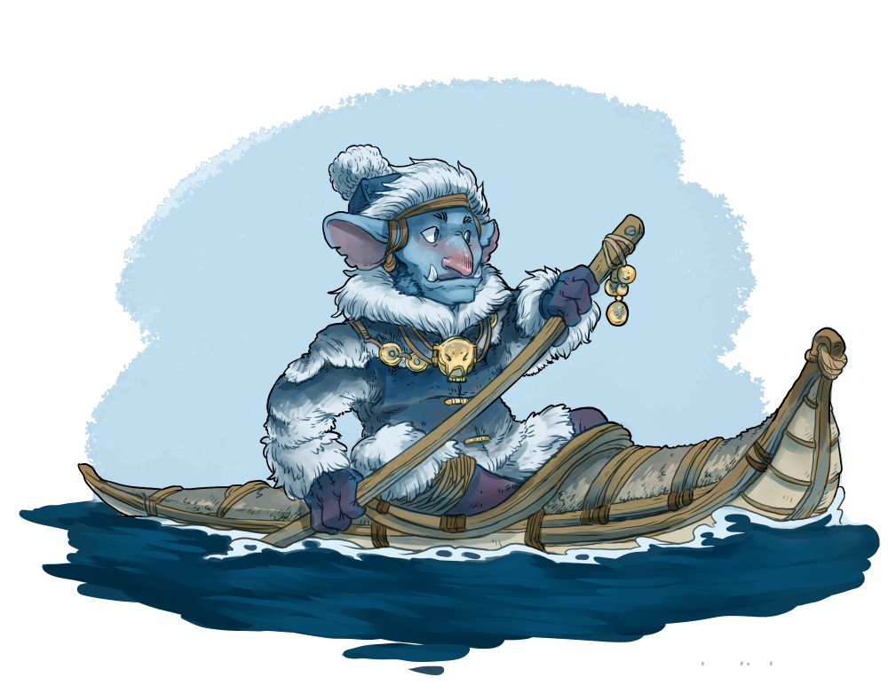 Arctic goblin seafarer