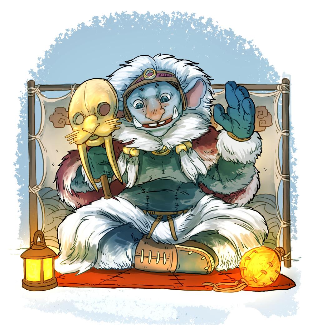 Arctic goblin storyteller