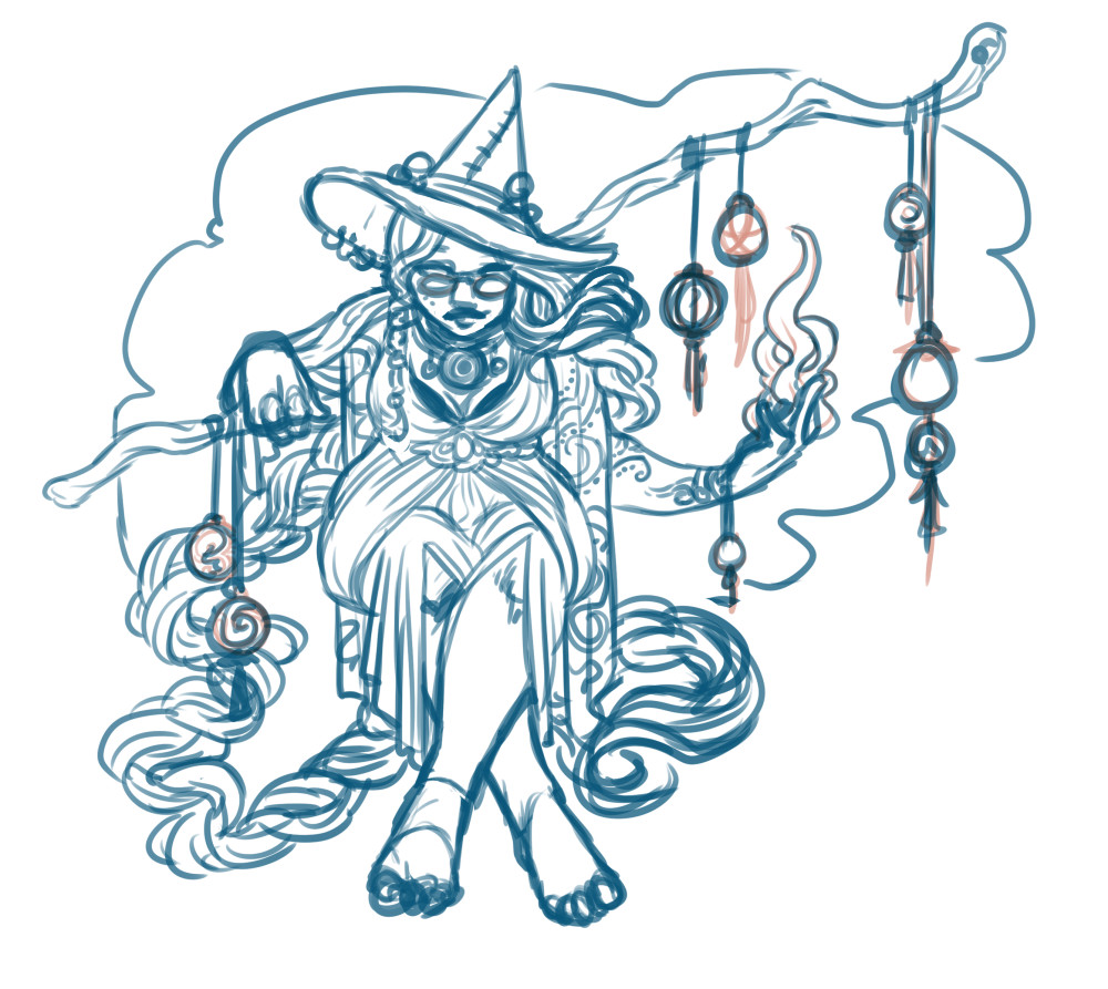 Witch Week 2017 - sketch