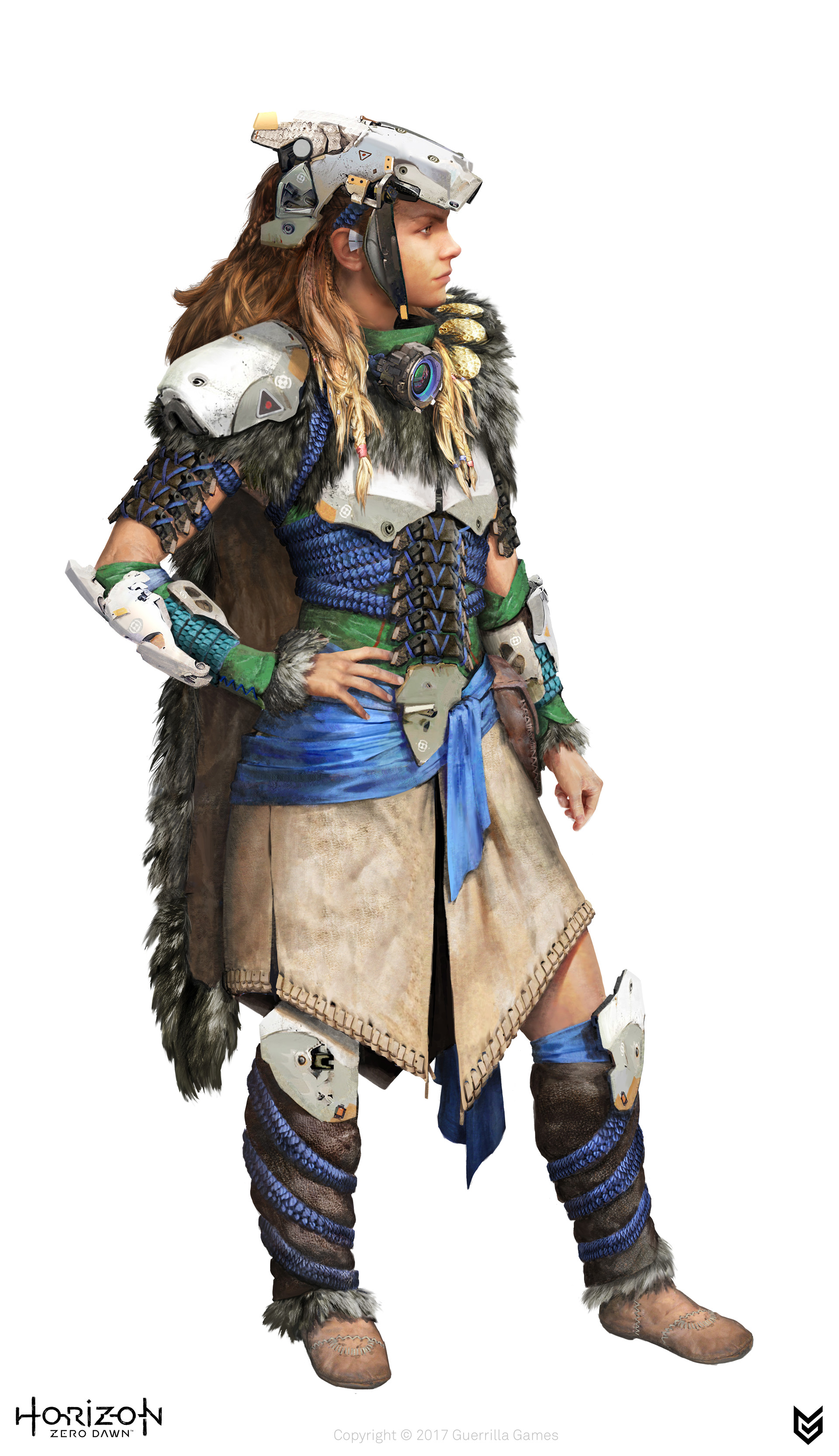 ArtStation - Horizon Zero Dawn: Aloy Outfits, luc de haan