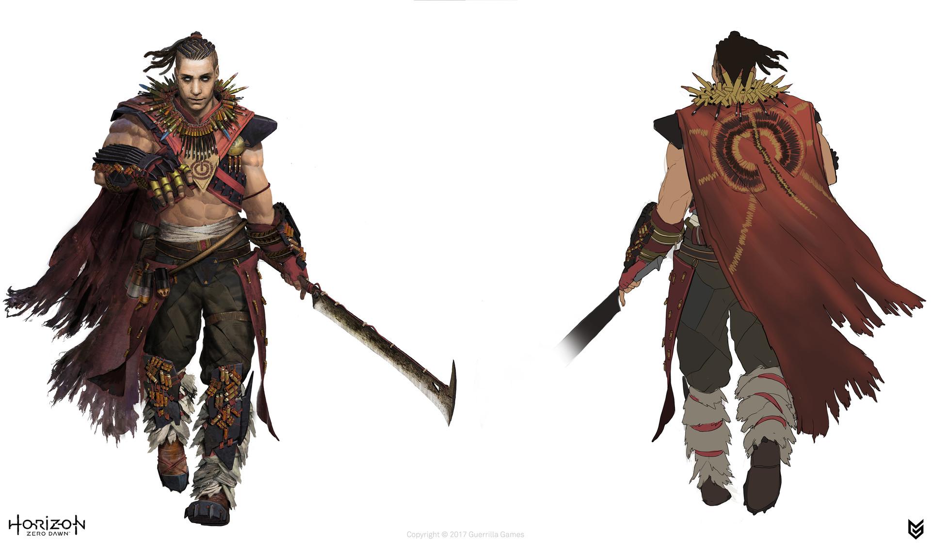 Artstation Horizon Zero Dawn Story Characters Luc De Haan
