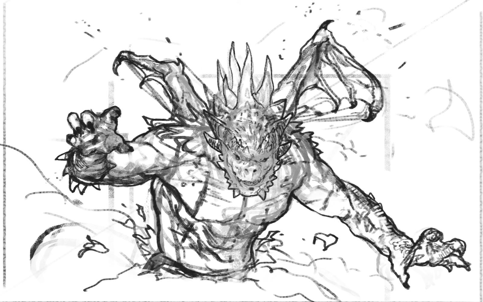 Base sketch