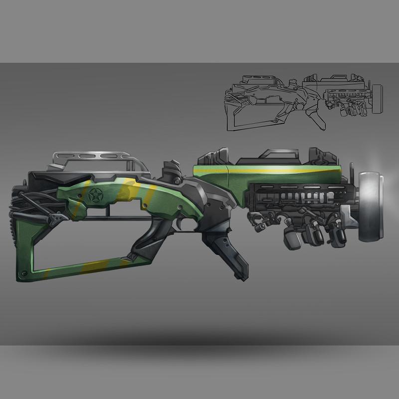 Guns Concept art