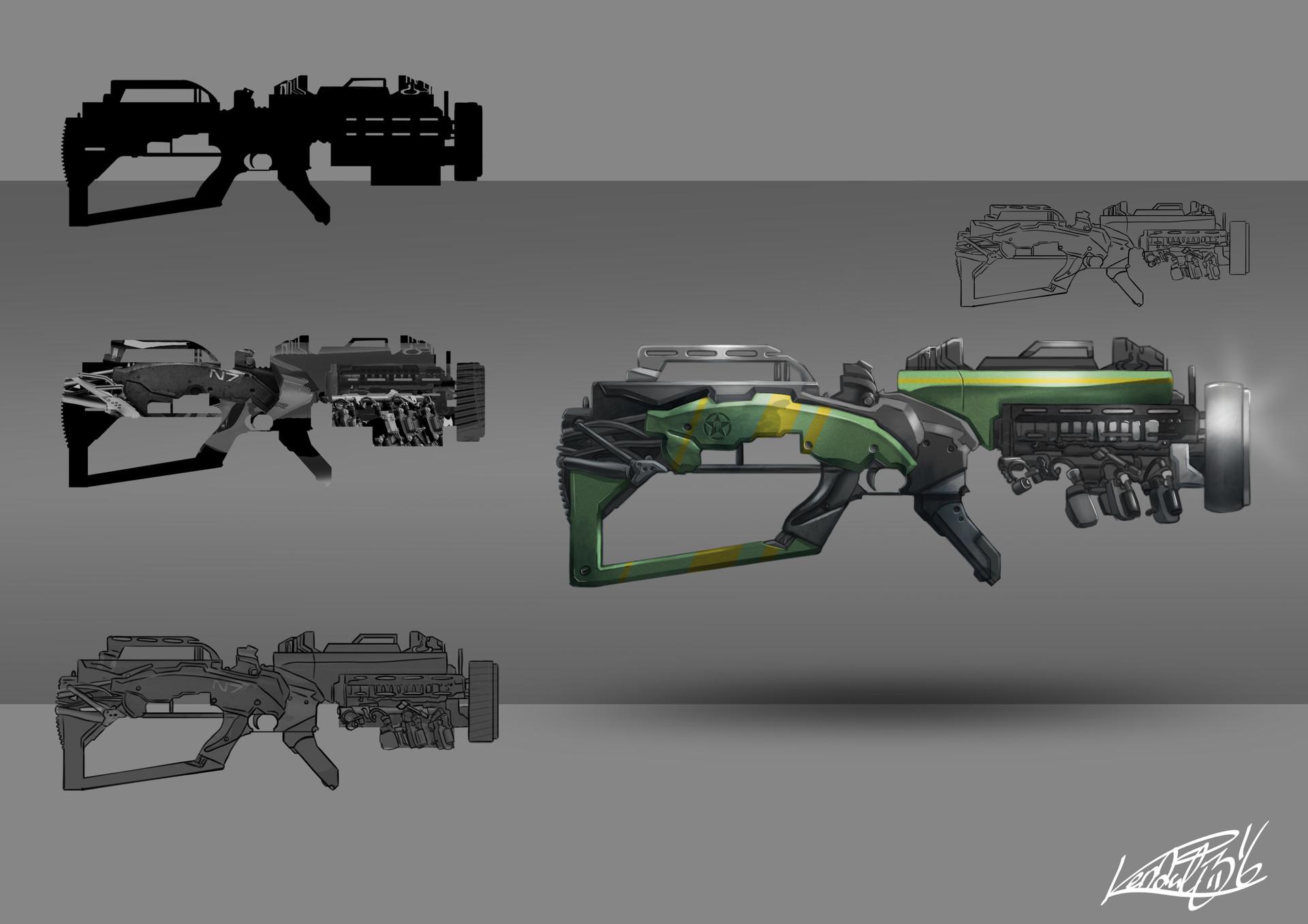 Kendal 316 arma realista