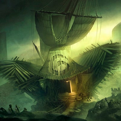 Sarah kate forstner shipwreck thumbnails artstation