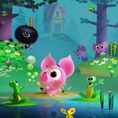 Dermot walshe piggy poster lowres