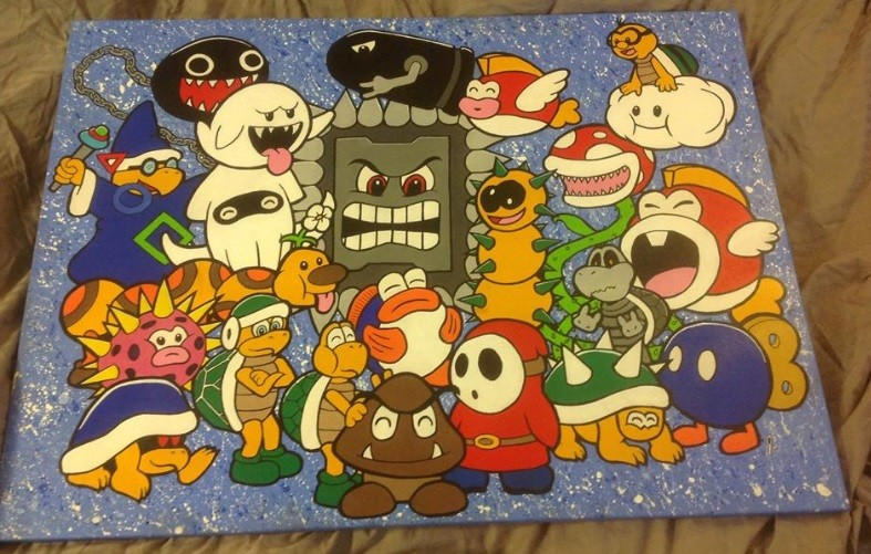 `Plumber Buggers` 30 x 40 canvas Status: Sold!