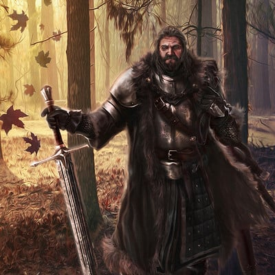 Mike hallstein lord rickard stark by mike hallstein dakhri7
