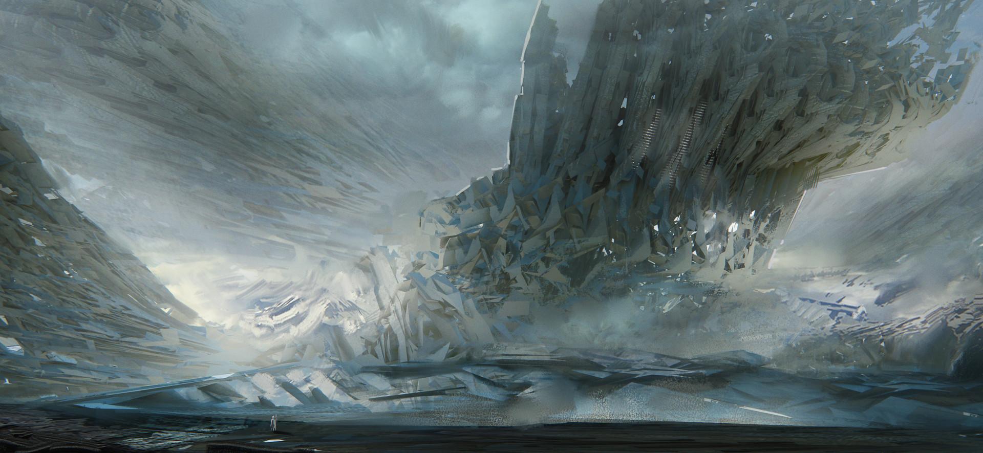 Leon tukker ice structure