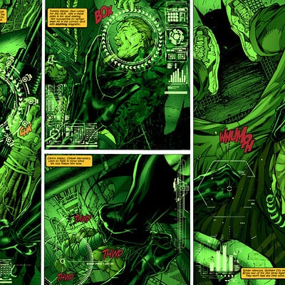 Matt james batman hush page 2 3 flats by j skipper db4uevb by snakebitartstudio db7hhrs
