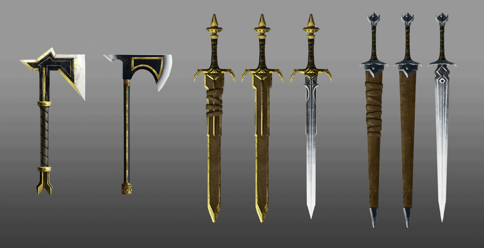 Artstation Melee Weapon Concepts Jose Martins Leite