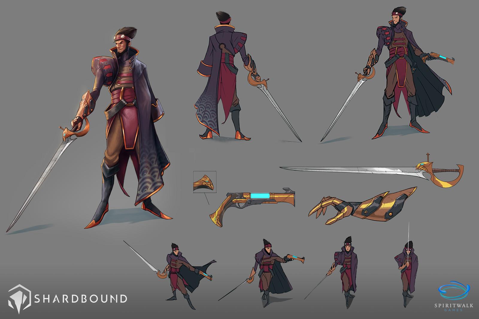 Gunblade - Shardbound