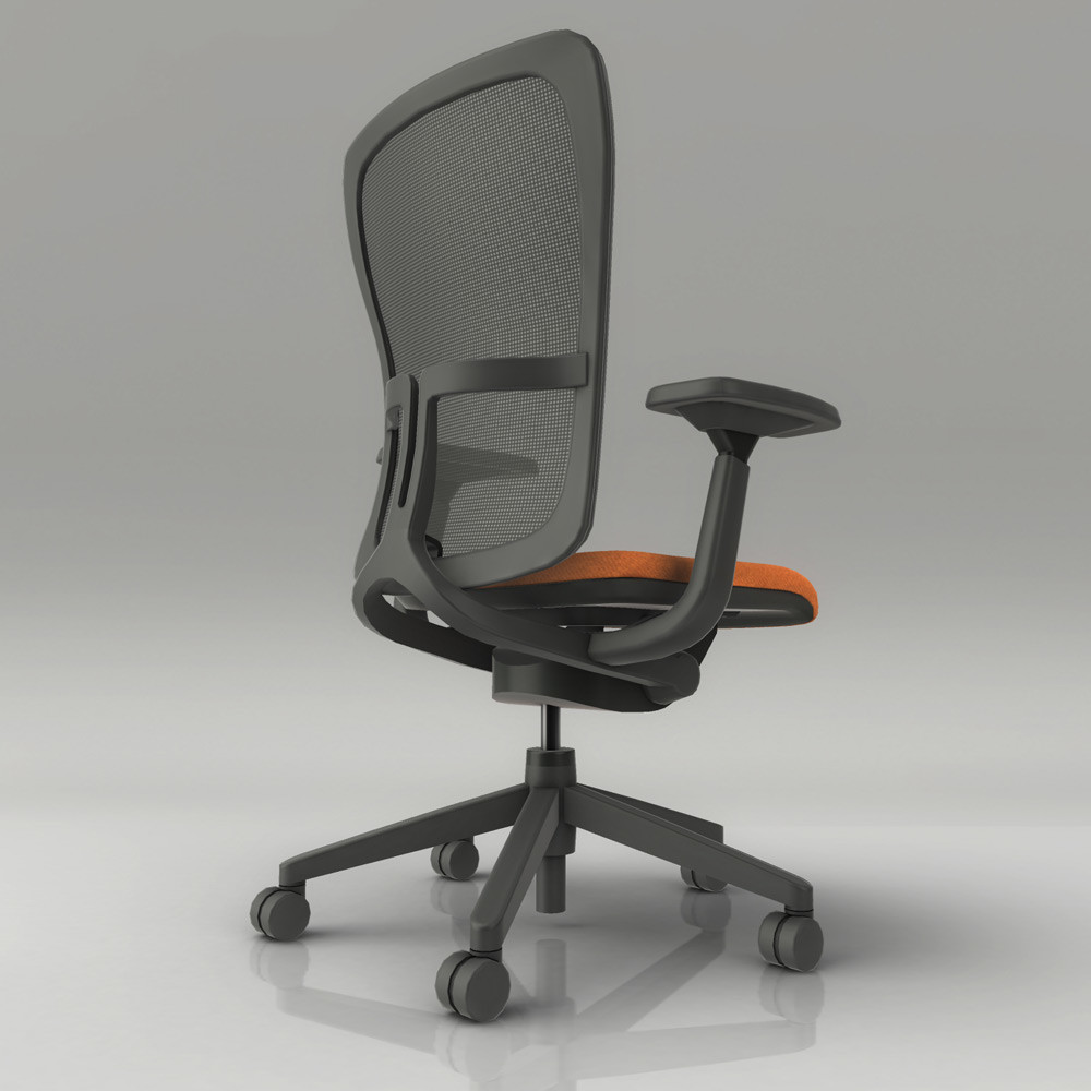 Jeremy h brown officechair back