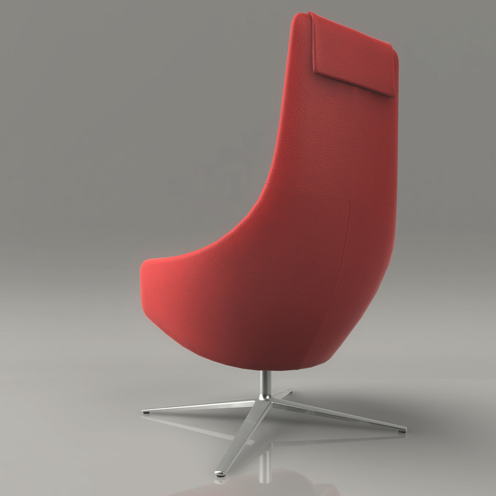 Jeremy h brown loungchair 01 back