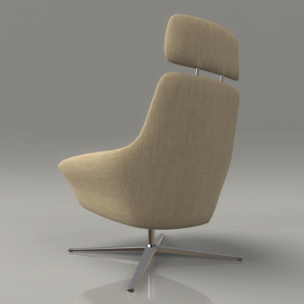 Jeremy h brown loungchair 02 back
