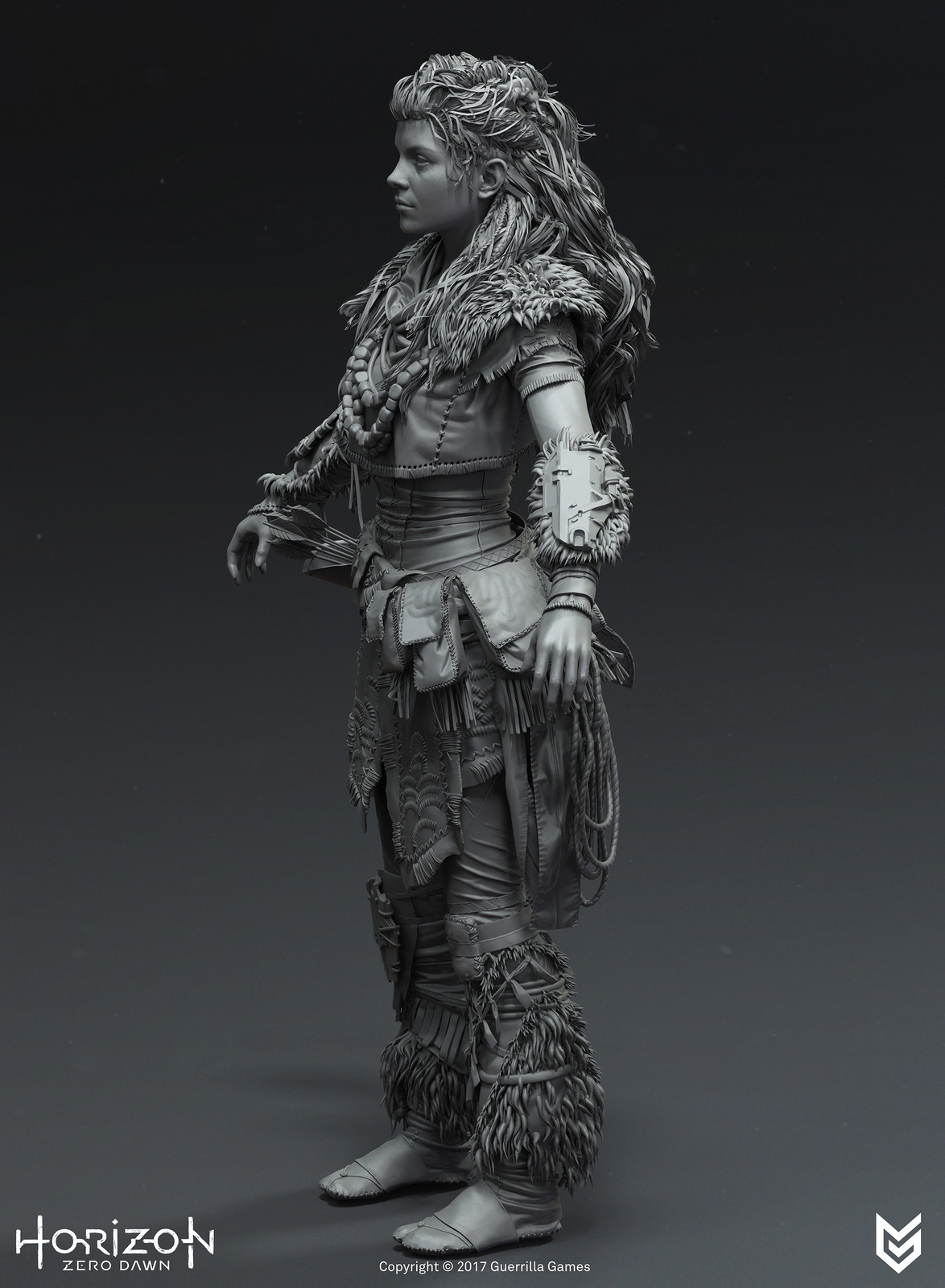 Horizon Zero Dawn: Aloy: Brave Costume