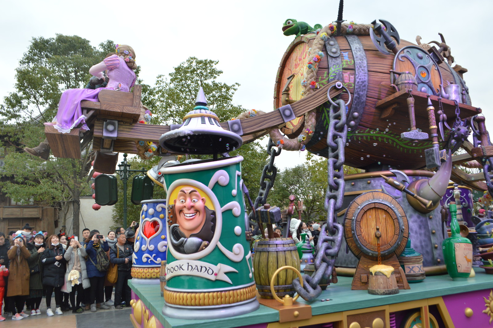 Mickey Storybook Express at Disneyland Shanghai