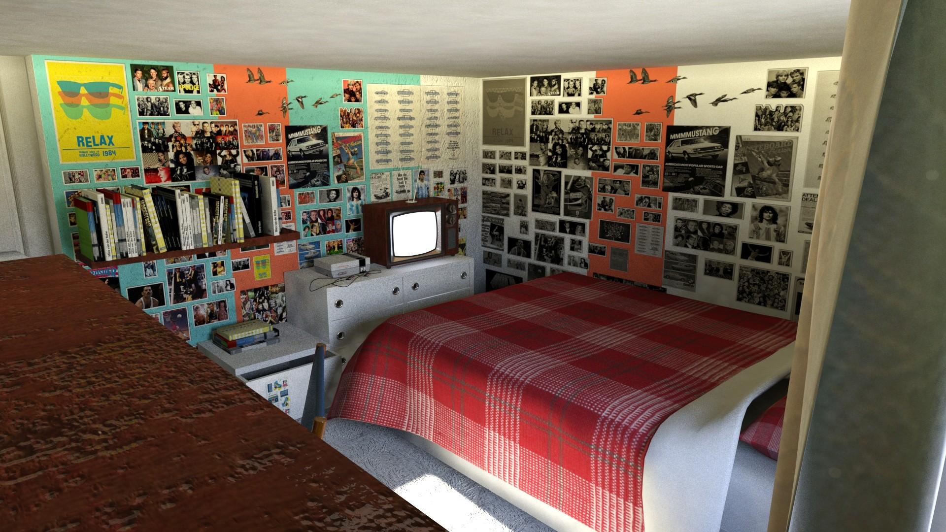 Julian Lopez 80 S Room