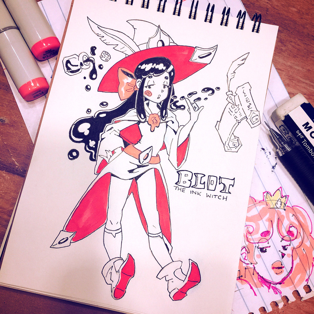 Day 11 - Ink 