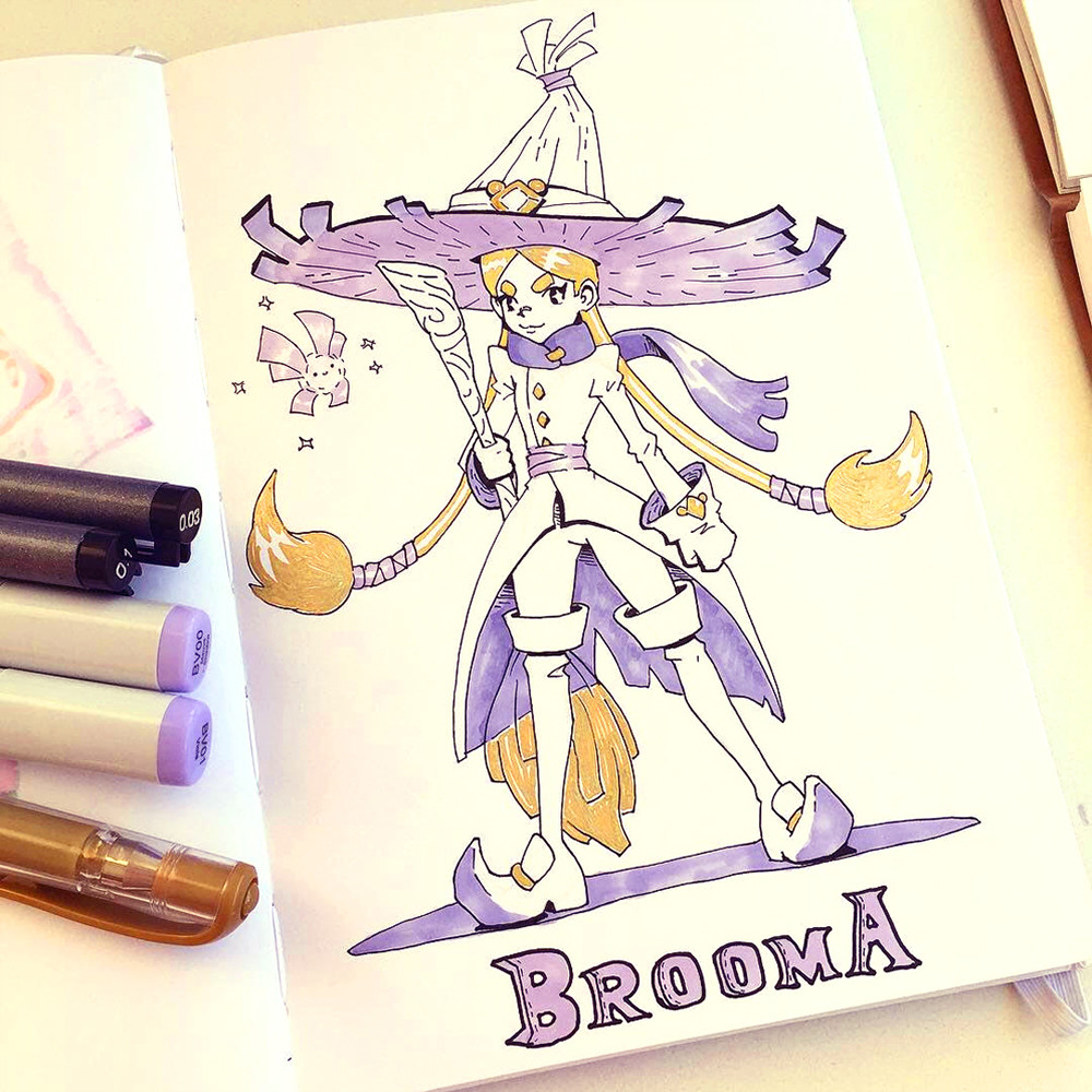 Day 18 - Broom  