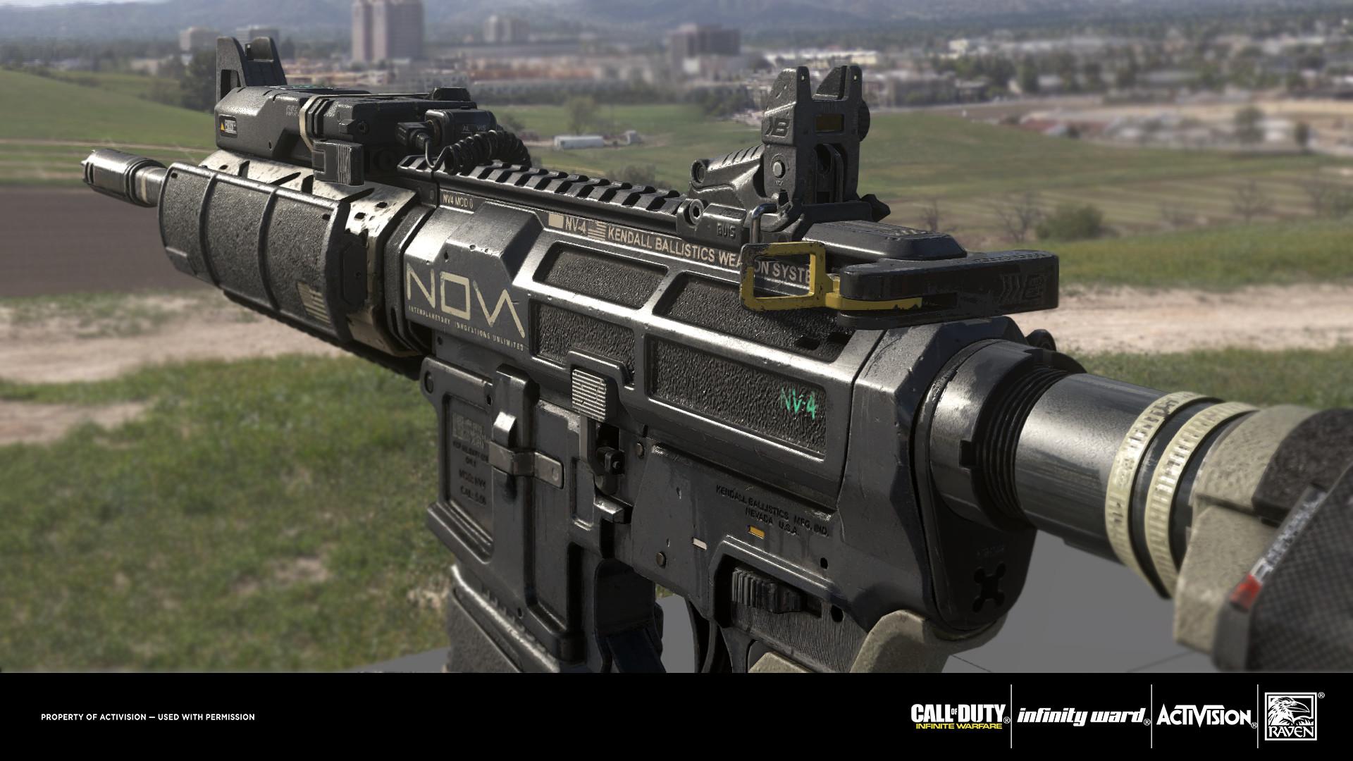 Ben Garnell Cod Infinite Warfare Nv 4