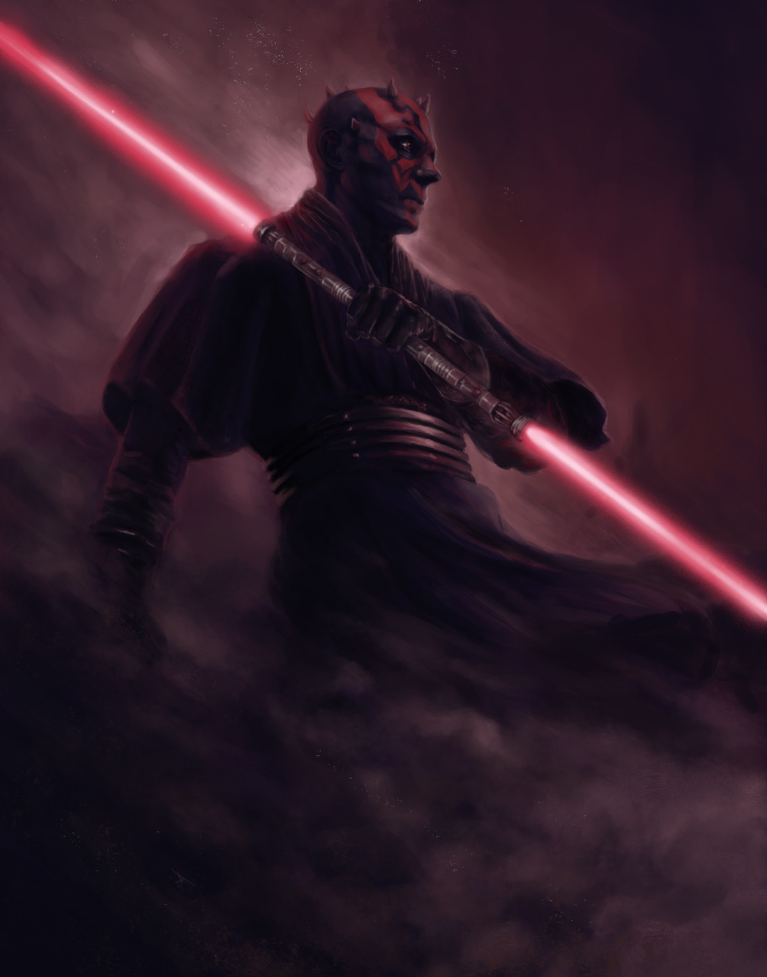 Josh ketchen darth maulprint