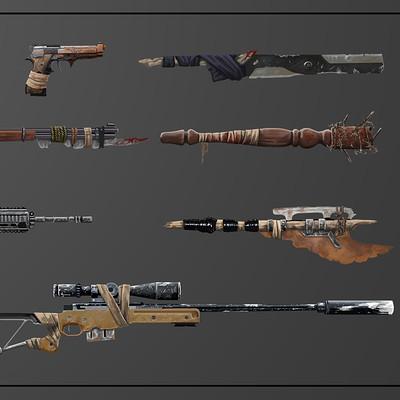 Coty polk weapons