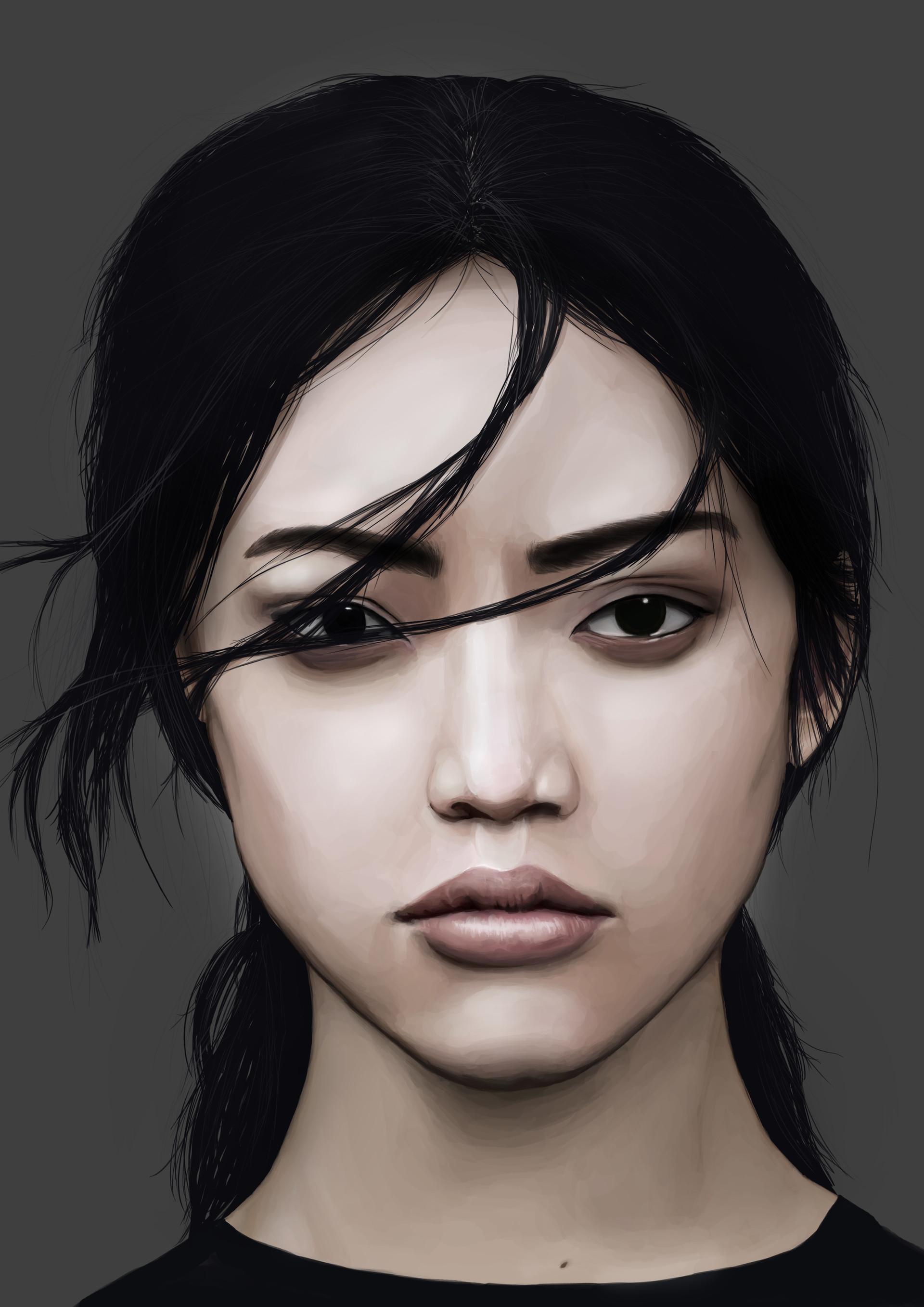 Something is. Asian model photo woman amusing
