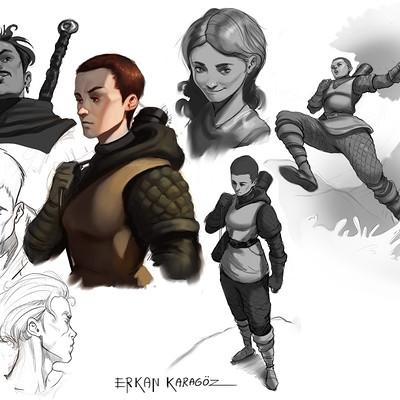 Erkan karagoez sketches 02
