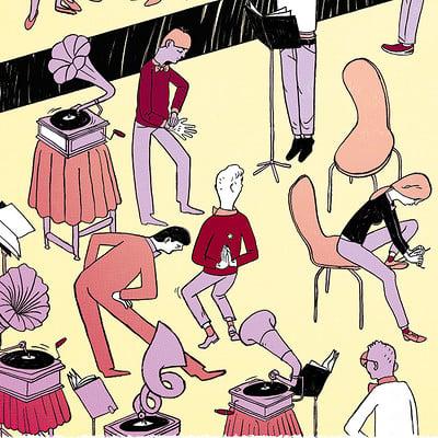 Kaspar tamsalu kaspar tamsalu illustratsioon flat 17