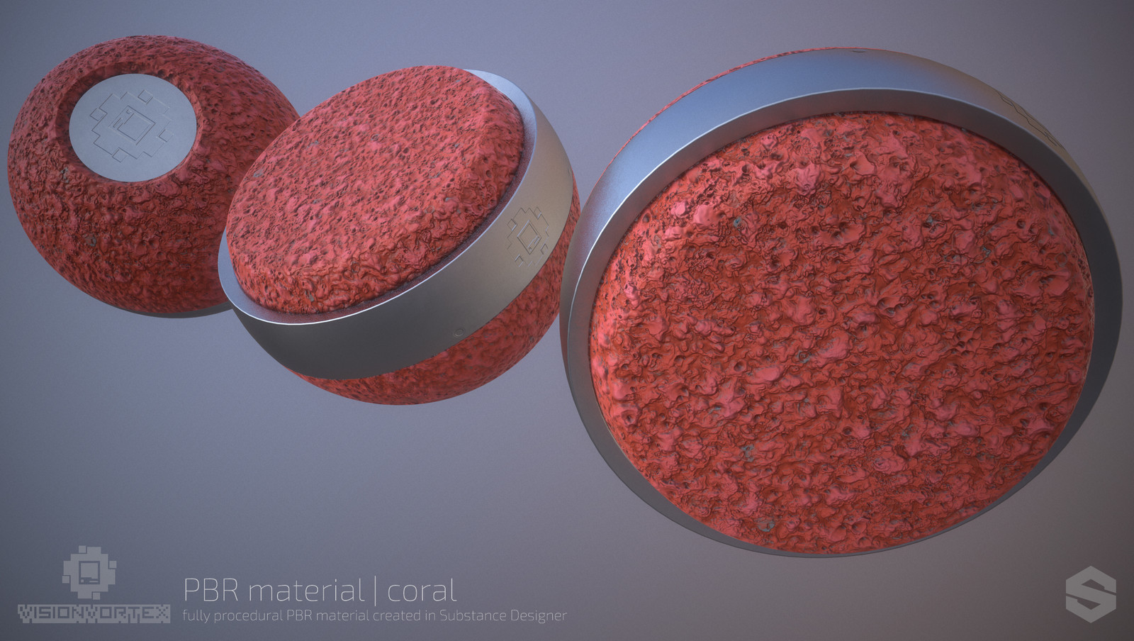 Coral Surface - Substance