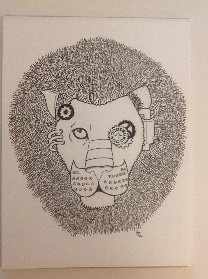'Steampunk Lion'