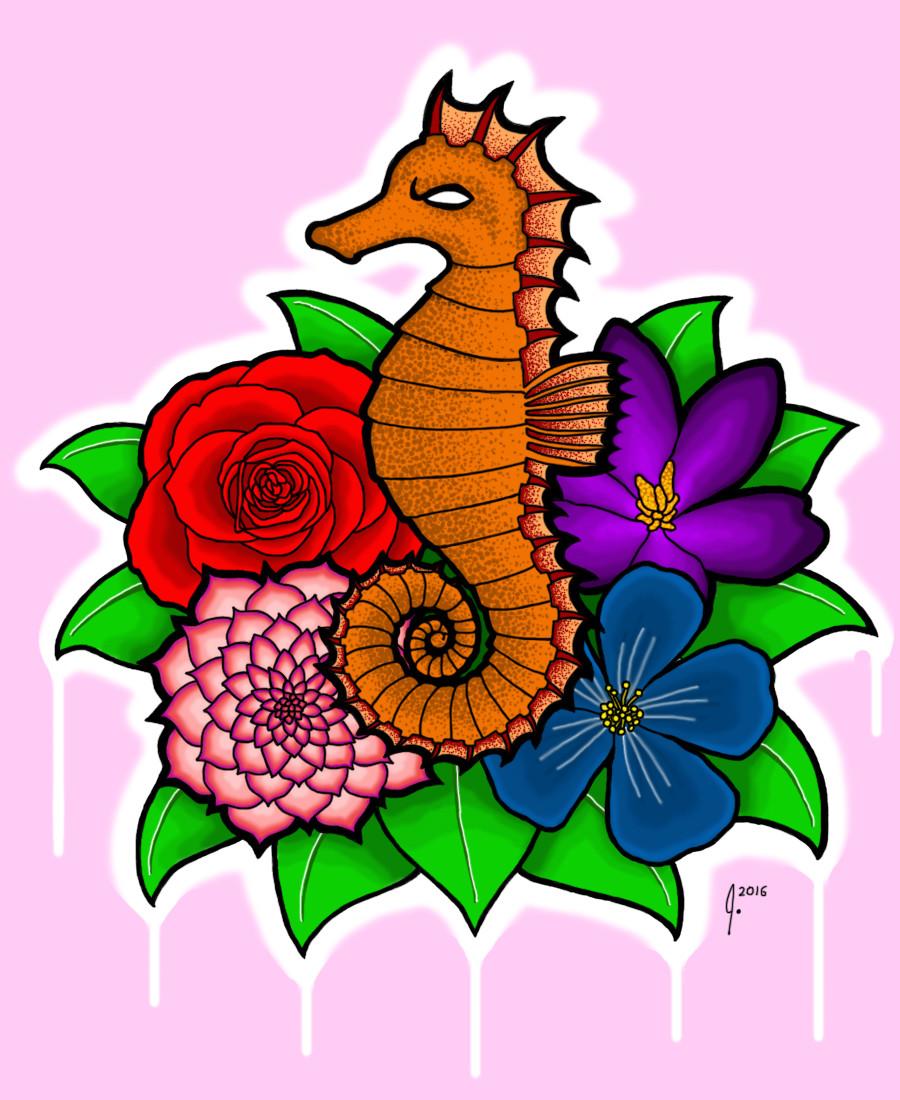 'Badass Seahorse'