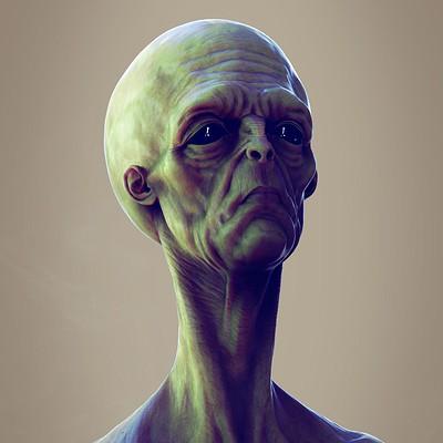 Andre de souza alien bust